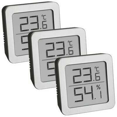 Set Digitale Thermo-Hygrometer (3 x)