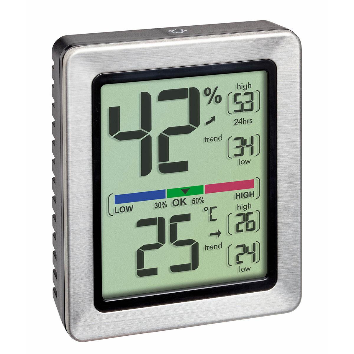 Digitales Thermo-Hygrometer EXACTO mit Zertifikat