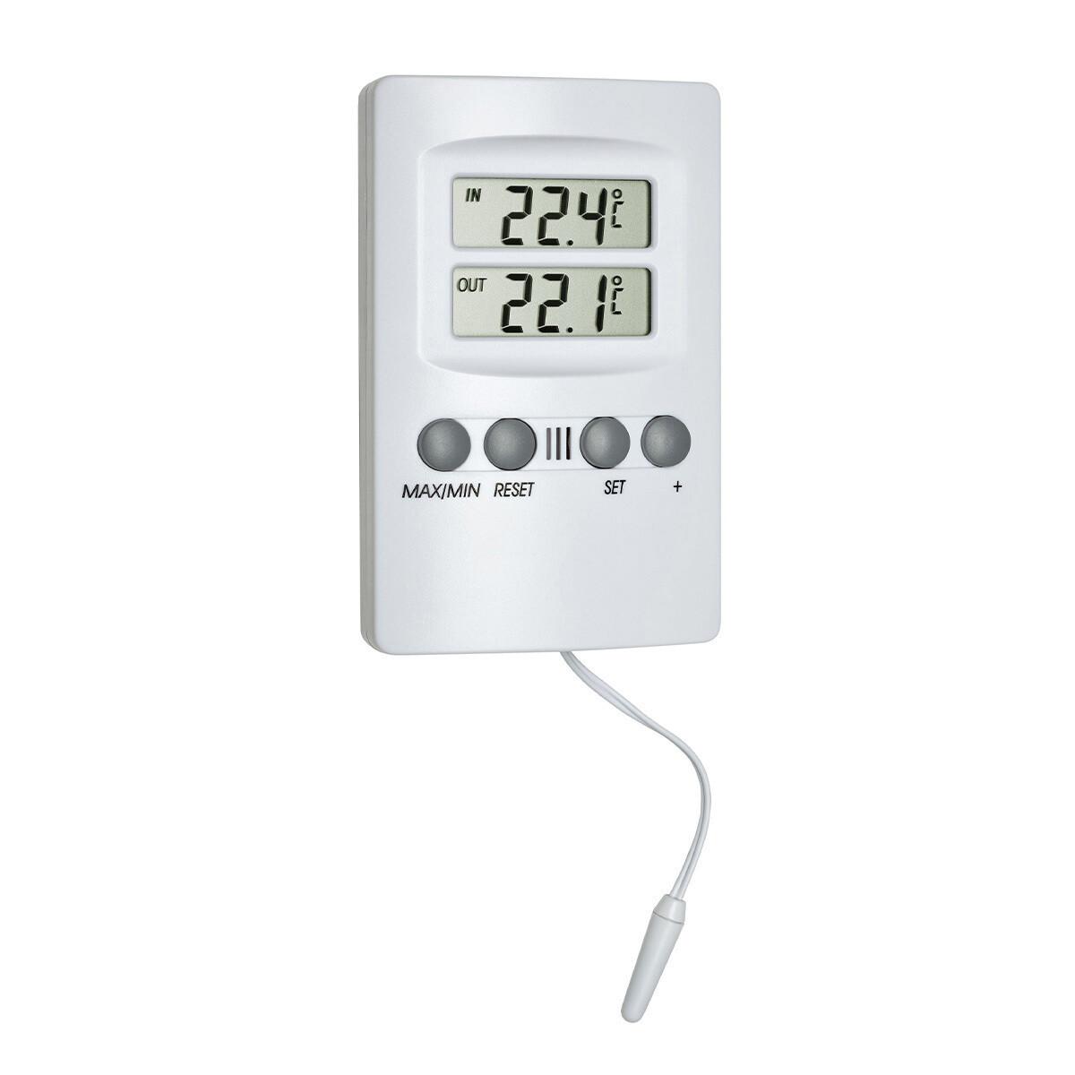 Digitales Innen-Aussen-Thermometer mit Alarm