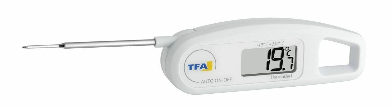 Einstich-Thermometer Klappthermometer Thermo-Jack TFA 30.1047.02