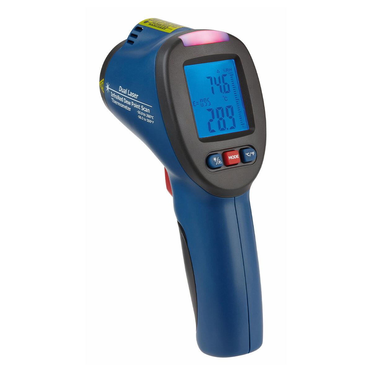 Infrarot-Thermometer mit Taupunktermittlung SCHIMMELDETEKTOR