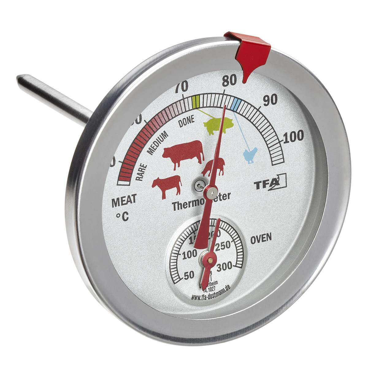 Analoges Braten- / Ofenthermometer
