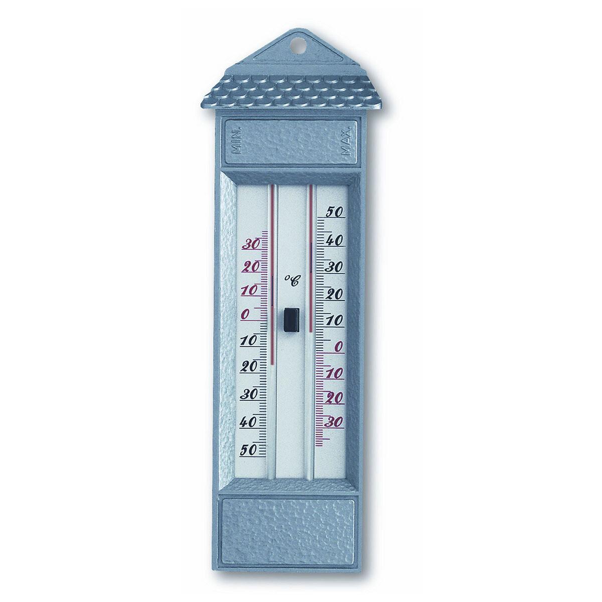 Maxima-Minima-Thermometer aus Metall