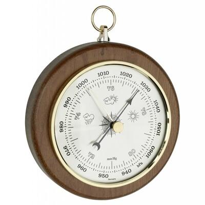 Barometer aus Eiche
