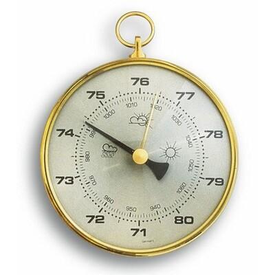 Barometer mit Messingring