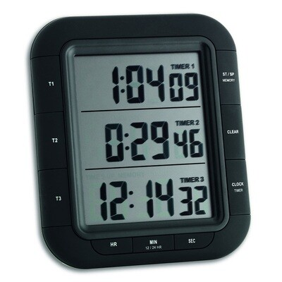 Digitaler 3-fach-Timer TRIPLE TIME XL