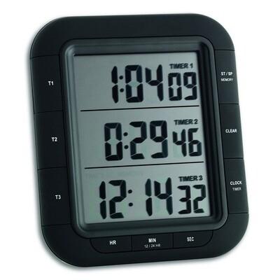 Digitaler 3-fach-Timer TRIPLE TIME XL