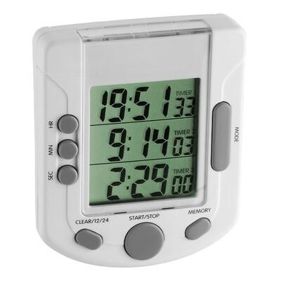 Digitaler 3-fach-Timer TRIPLE TIME