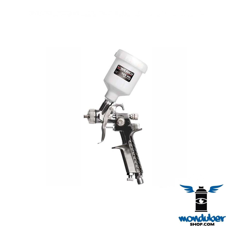 Pistola Pintar Retoques 125ml Werku