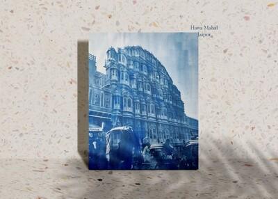 Hawa Mahal Cyanotype Photograh