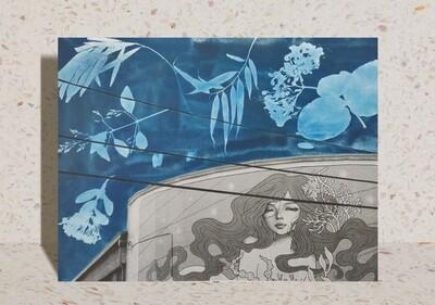 Static / Fluid 2 Art Print