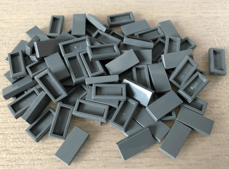 1x2 dunkelblau dark blue 1 x 2 Lego ® 25x Fliesen mit Noppe 15573 Kachel