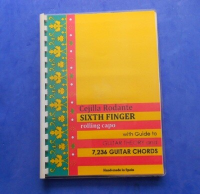 OUR BOOKLET. Guitar theory and 7,236 chords.
