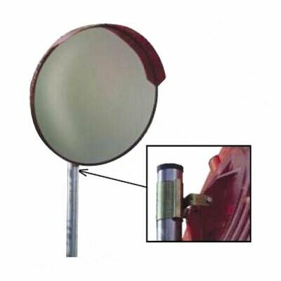 Specchio parabolico in PVC diametro 60 cm comprensivo di staffe per ancoraggio su palo