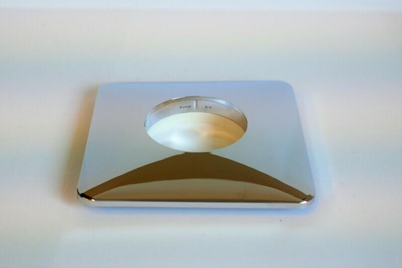 Abdeckrosette quadratisch, 140 x 140 mm