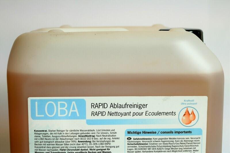 LOBA Rapid-Ablaufreiniger