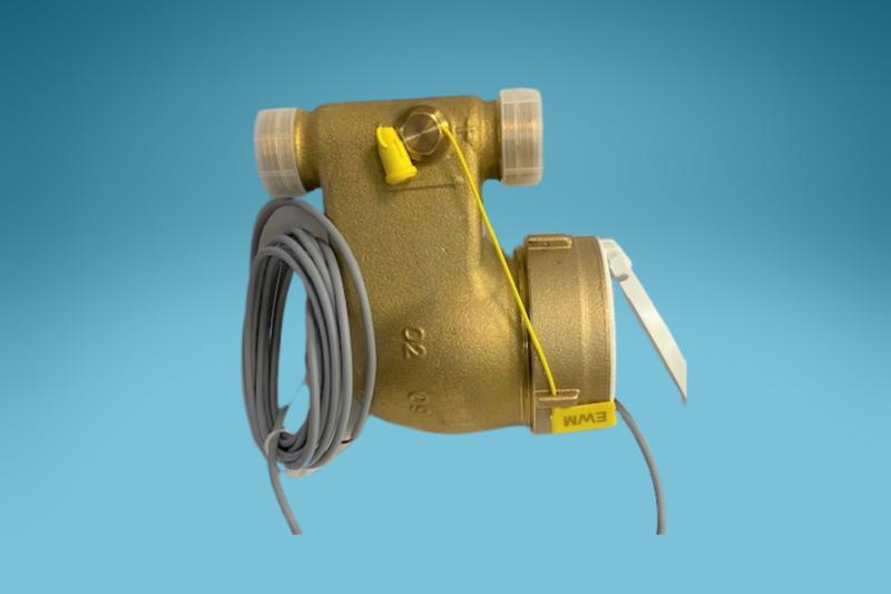 Mehrstrahlzähler mit Impuls (1:100 Liter) Kaltwasser 1 1/2