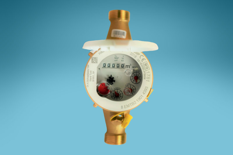 Mehrstrahlzähler Elster Warmwasser, L: 300 mm, DN: 3/2