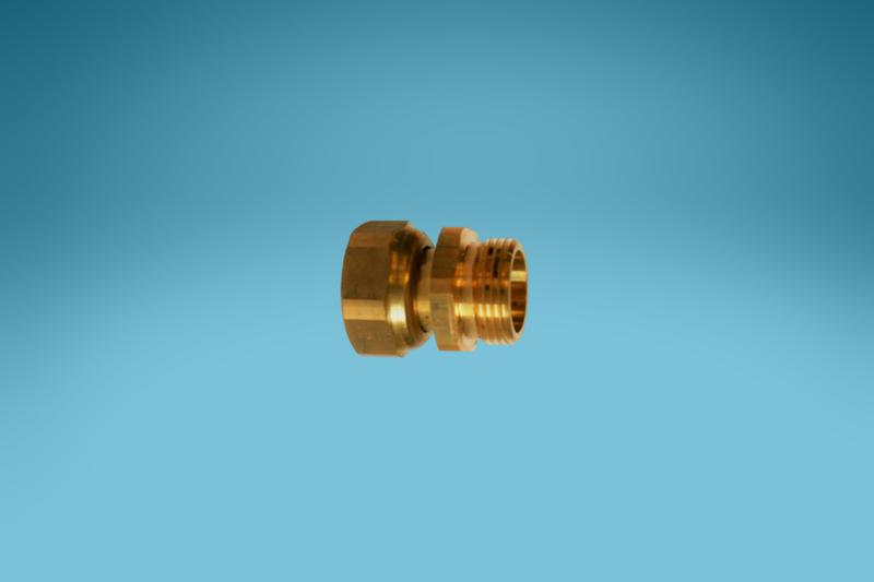 Wasserzähler-Verschraubung