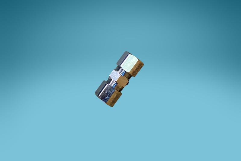 Doppel-Klemm-Quetsch-Verschraubung,10 x 12