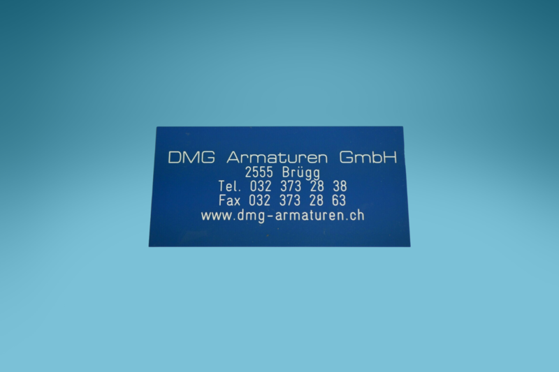 Bezeichnungsschild (Beschriftungsschild) Simplex 200 x 100 mm