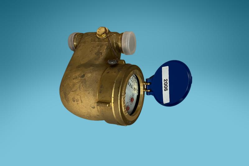 Mehrstrahlzähler Warmwasser, L: 200 mm, DN: 3/2