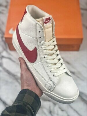 Men's/Women's Blazer Mid '77 Vintage Basketball Sneakers Cream
