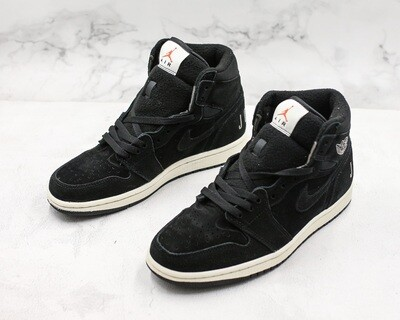Mens' Air Jordan 1 Retro High OG Basketball Shoes Black