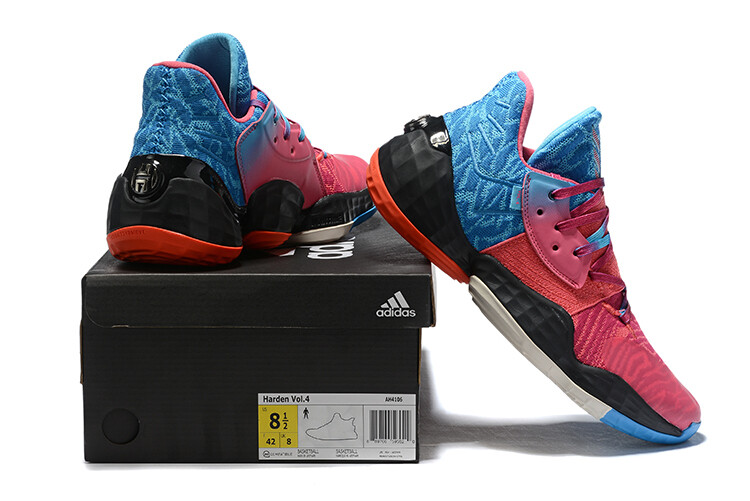 James Harden Basketball Shoes Red Blue