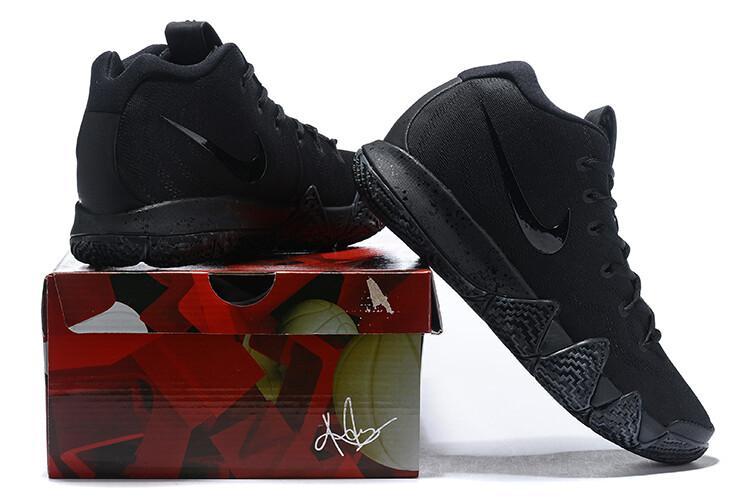 Men's Kyrie 4 Basketball Shoes Black