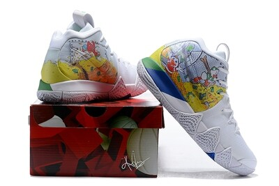 Men's Kyrie 4 Basketball Shoes Donald Duck