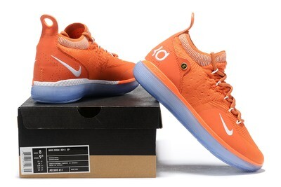 Men's Zoom Kd 11 Low  signature Basketball Orange
