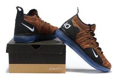 Men's Zoom Kd 11 Low  signature Basketball Heather Brown