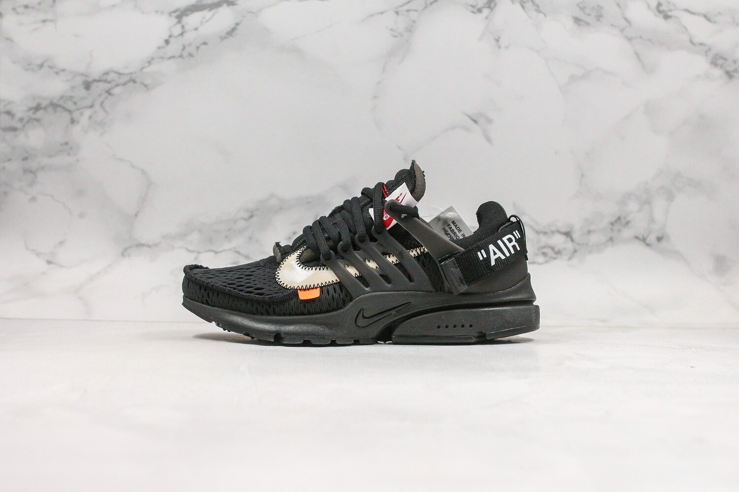 Men's/Women's Air Presto 2.0 x Off-White 'Black'  Basketball Shoes Casual Life sneakers