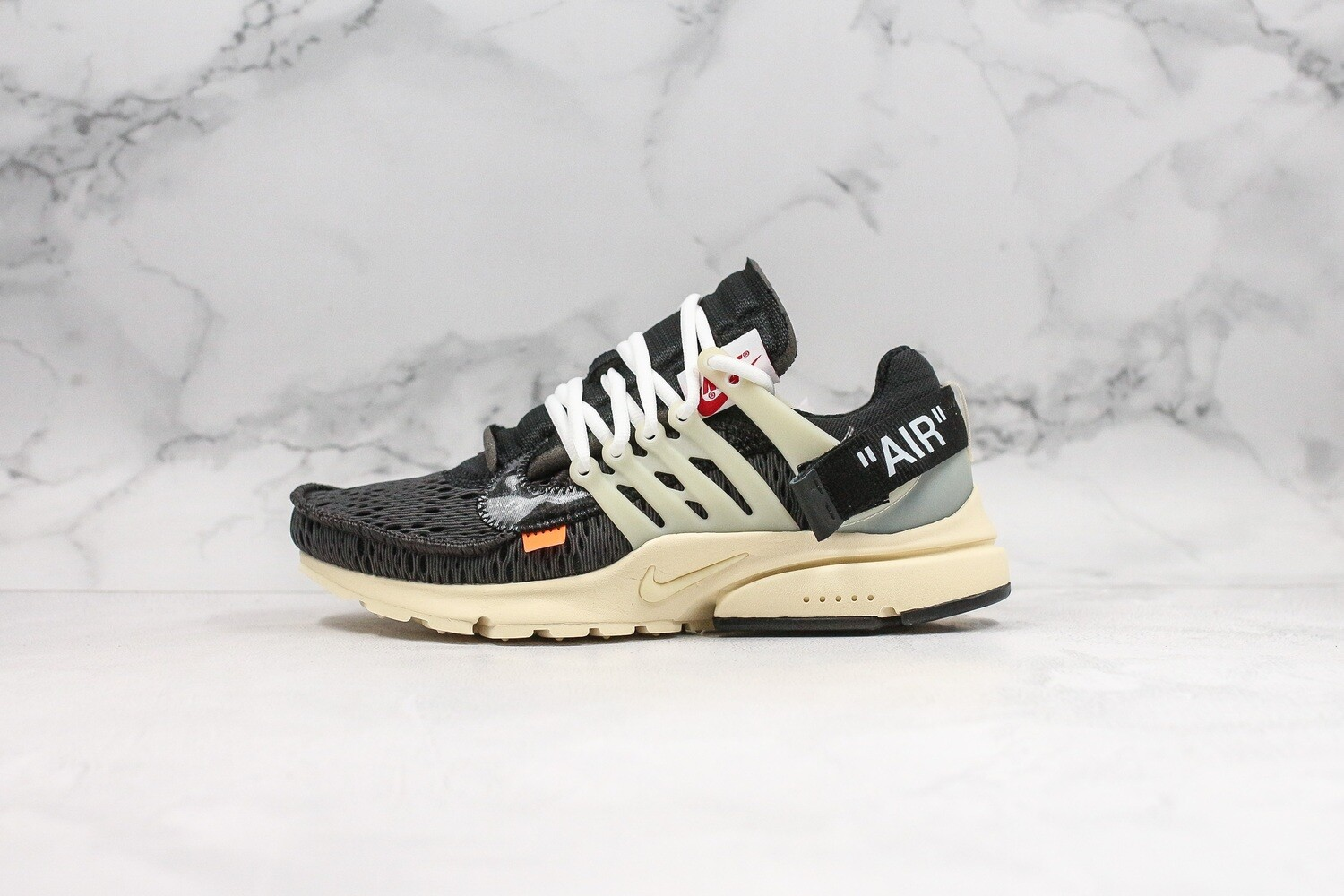 Men's/Women's Air Presto 2.0 x Off-White 'Black/Beige'  Basketball Shoes Casual Life sneakers