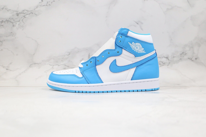 "Men's/Women's Air Jordan 1 Retro High OG ""UNC""  Basketball Shoes Casual Life sneakers"