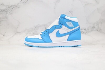 "Men's/Women's Air Jordan 1 Retro High OG ""UNC""  Basketball Shoes Casual Life sneakers"