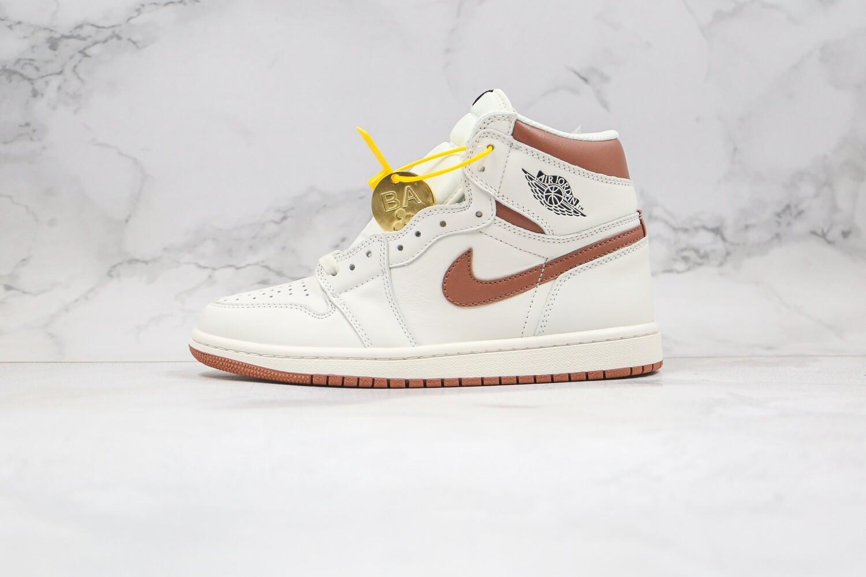 """Men's/Women's  Air Jordan 1 AJ1 Hi OG """"Mocha""""  Basketball Shoes Casual Life sneakers"""