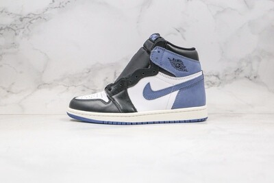 Air Jordan 1 Retro High OG Blue Moon Basketball Shoes Casual Life sneakers