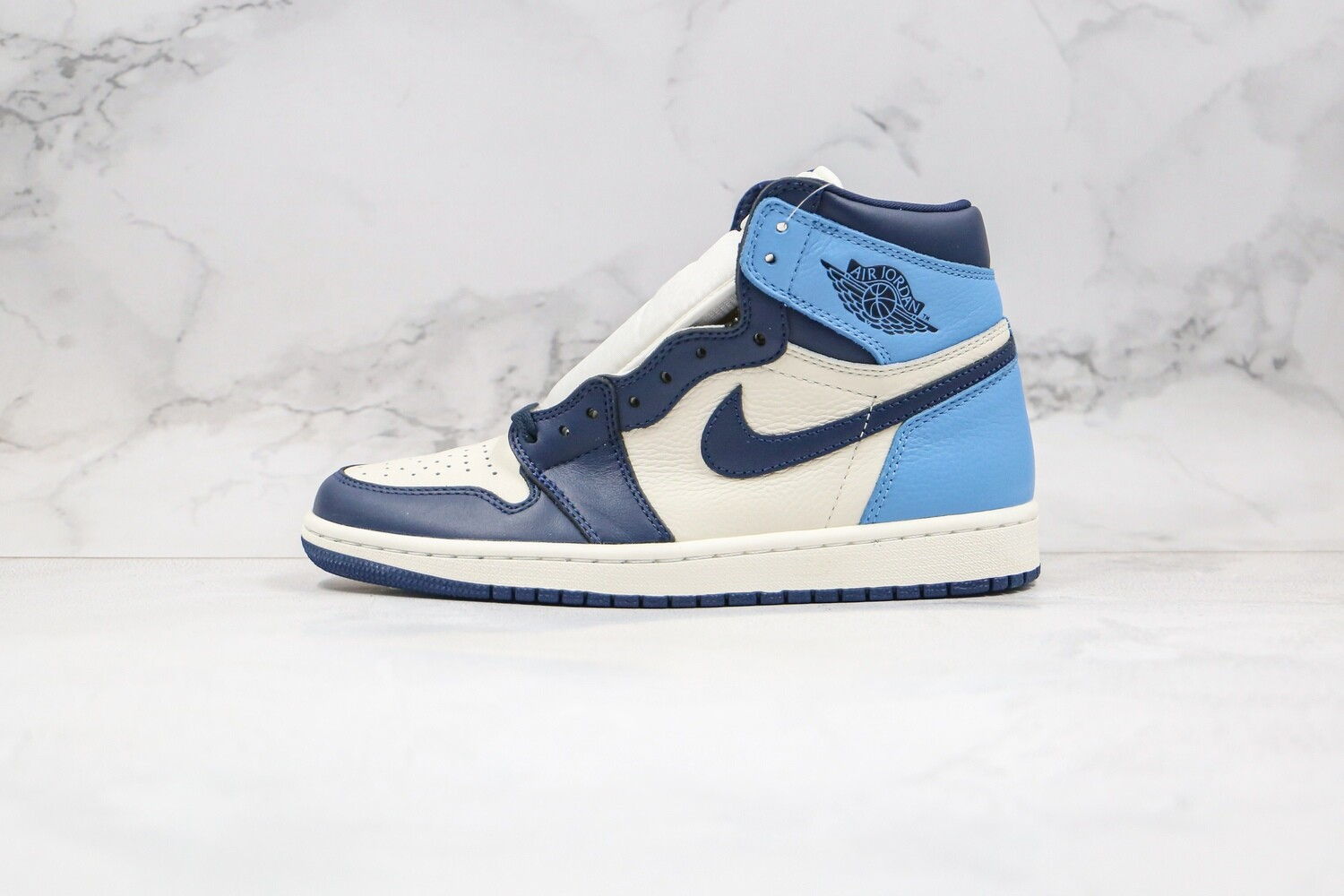 Air Jordan 1 Retro High Obsidian Basketball Shoes Casual Life sneakers