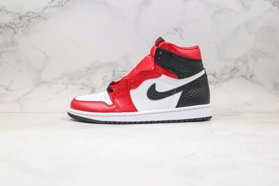 Air Jordan 1 Retro High Satin Snake Basketball Shoes Casual Life sneakers