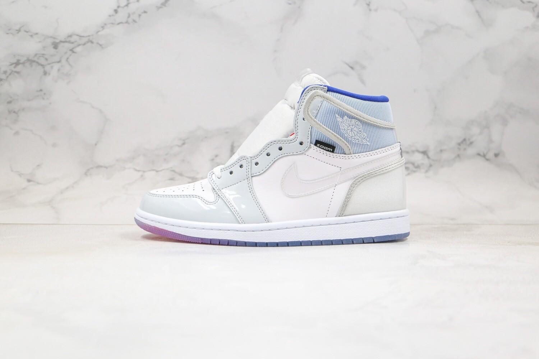 Air Jordan 1 High Premium Racer Blue Basketball Shoes Casual Life sneakers
