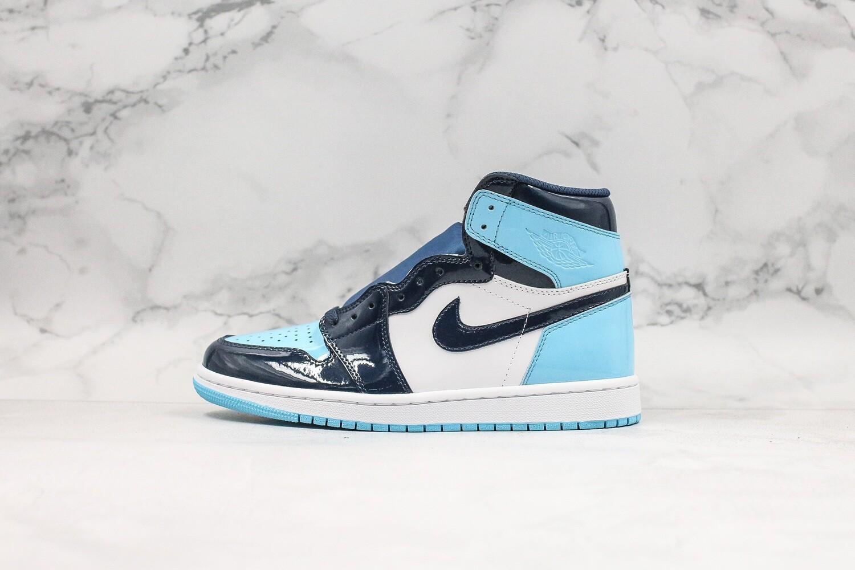 Air Jordan 1 Retro High OG UNC Patent Basketball Shoes Casual Life sneakers