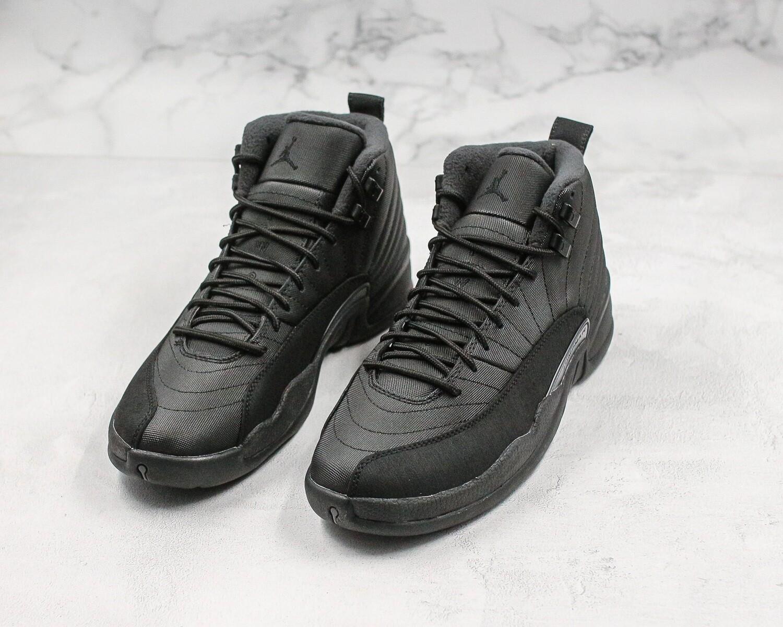 Jordan 12 Retro Winter Black Men's Basketball Shoes