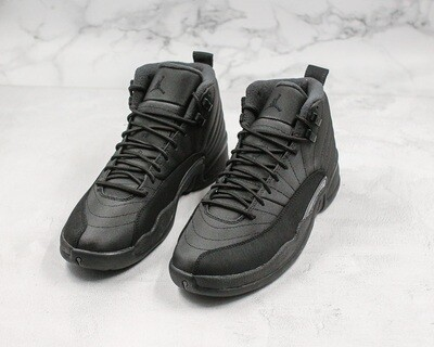 Jordan 12 Retro Winter Black Men's Basketball Shoes