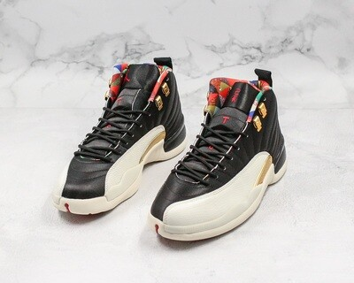 Jordan 12 Retro CNY Casual Lifestyle Sneakers