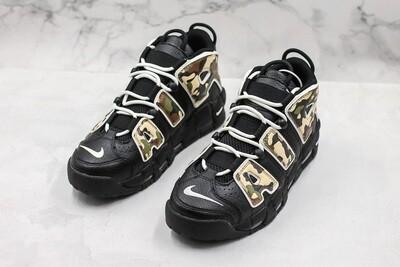 Air More Uptempo '96 QS - Black Basketball Shoes