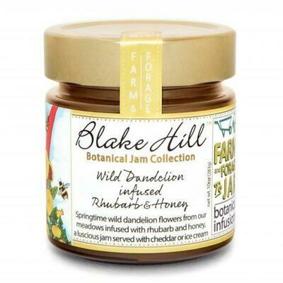 Wild Dandelion Infused Rhubarb & Honey