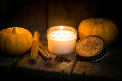 Spiced Pumpkin Soy Candle, 4 oz