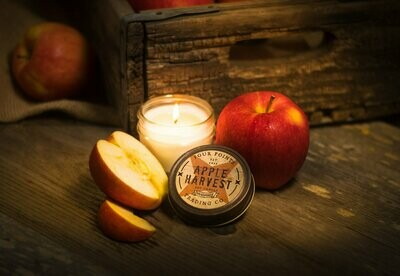 Apple Harvest Soy Candle, 4 oz